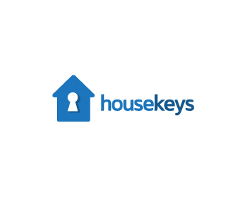 housekeys logo design