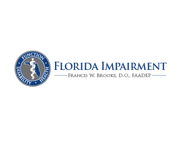 Florida Impairment logo design