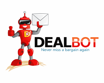 Dealbot logo design