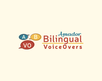 Amador Bilingual Voiceovers logo design
