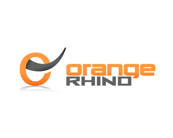 Orange Rhino logo design