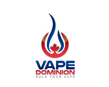 Vape Dominion logo design