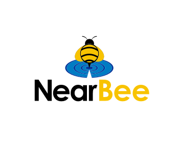 NearBee logo design