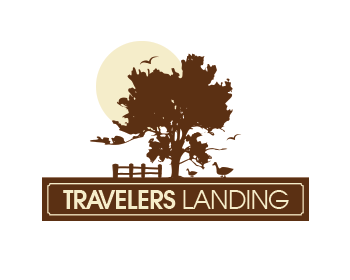 Logo design for Travelers Landing