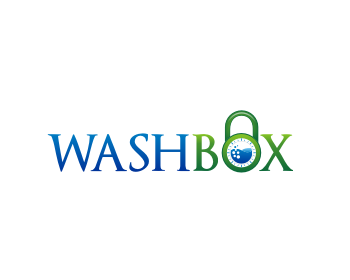 WASHBOX logo design