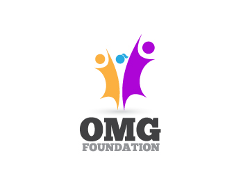 OMG Foundation logo design