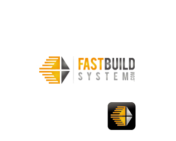 FAST BUILD SYSTEMS logo design