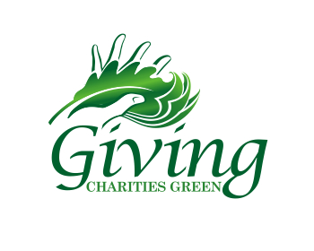 Logo design for Giving Charities Green