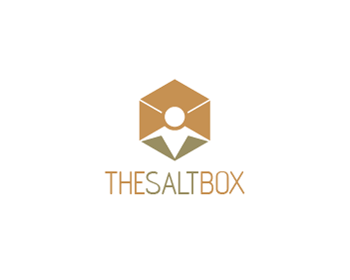 The Salt Box logo design
