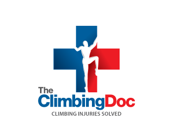The Climbing Doc logo design