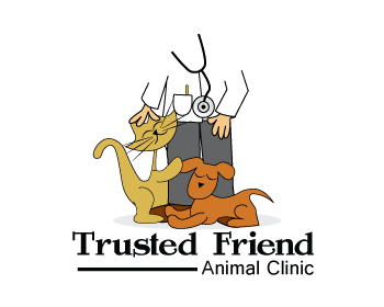 Trusted Friend Animal Clinic logo design
