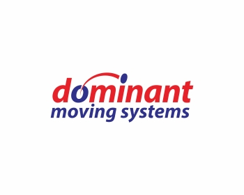 Dominant Moving Systems logo design