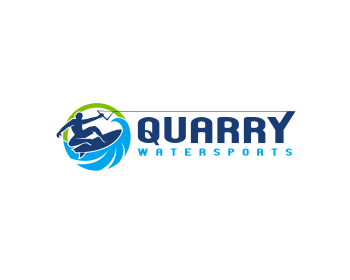 Quarry Watersports logo design
