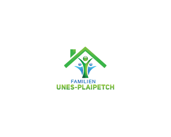 Familien Unes-Plaipetch logo design