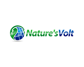 Nature's Volt logo design