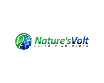Logo design for Nature's Volt