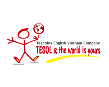 Teaching English Vietnam Company logo design