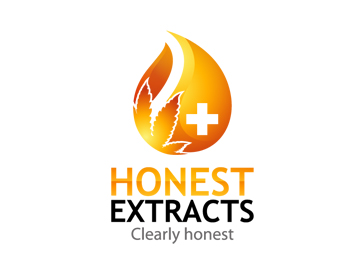 Honest extracts logo design