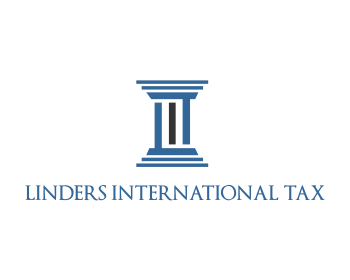 Linders International Tax logo design