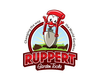 Ruppert Garden Tools logo design