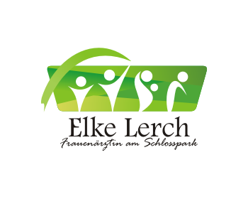 Elke Lerch logo design