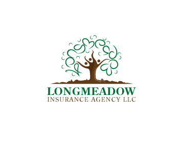 Longmeadow Insurance Agency LLC logo design