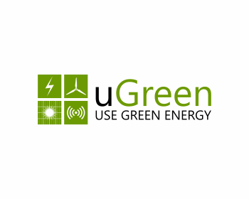 uGreen logo design