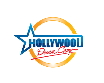 Hollywood Rock n Roll Dream Camp logo design