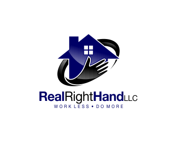 Real Right Hand LLC logo design