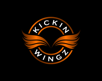 Logo design for Kickin Wingz