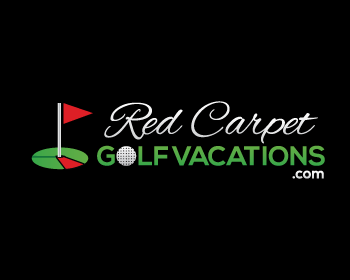 Logo design for Red Carpet Golf Vacations.com