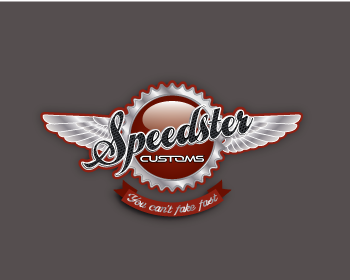 Speedster Customs logo design