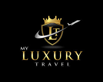 My Luxury Travel logo design