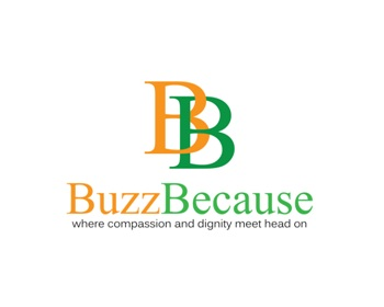 Buzz Because logo design