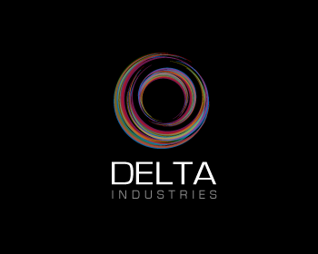 Delta Industries logo design