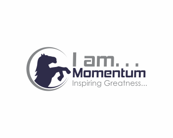 I am… Momentum logo design