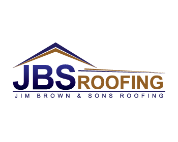Jim Brown & Sons Roofing logo design