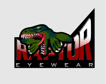 Raptor Eyewear logo design