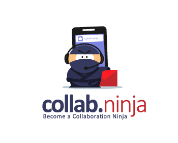 collab.ninja logo design