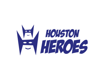 Houston Heroes logo design