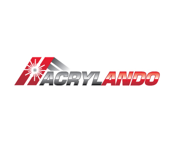 Acrylando logo design