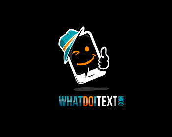 Logo whatdoitext.com