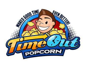 TIME OUT logo design