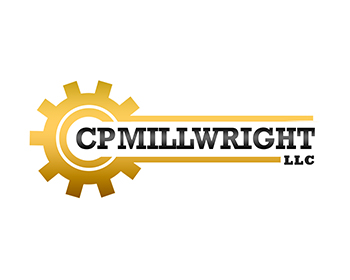 CP Millwright, LLC logo design