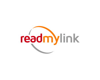 read my link logo design
