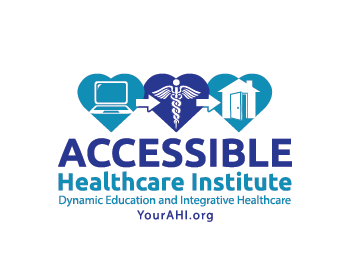 Accessible Healthcare Institute logo design
