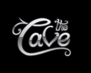 The Cave logo design