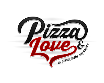 Logo design for Pizza & Love