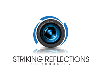 Striking Reflections Photography logo design
