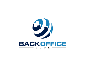 BackOffice Edge logo design